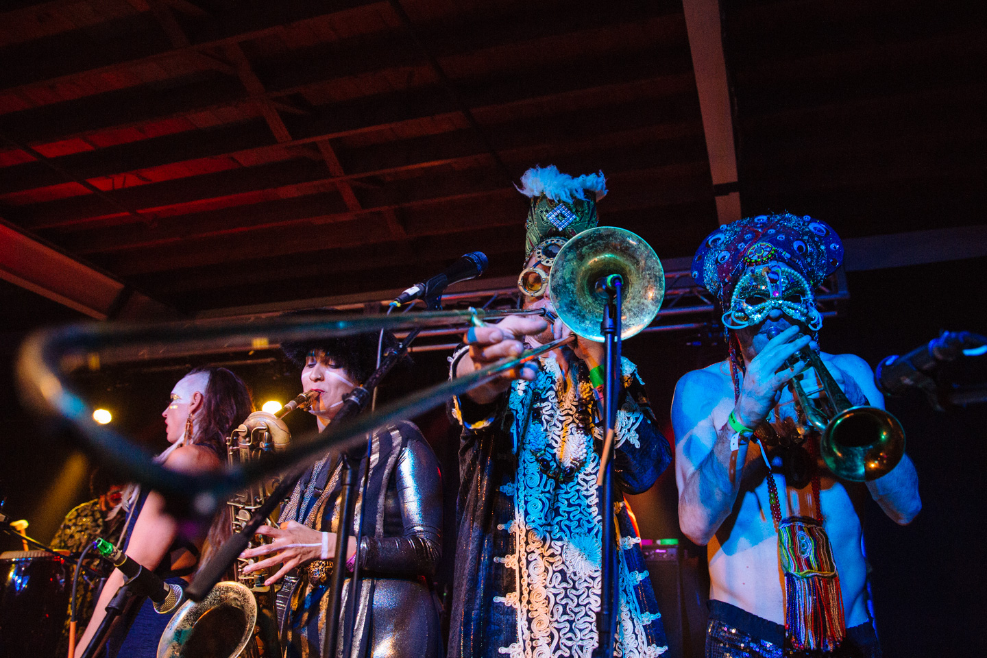 Golden Dawn Arkestra at Native Hostel