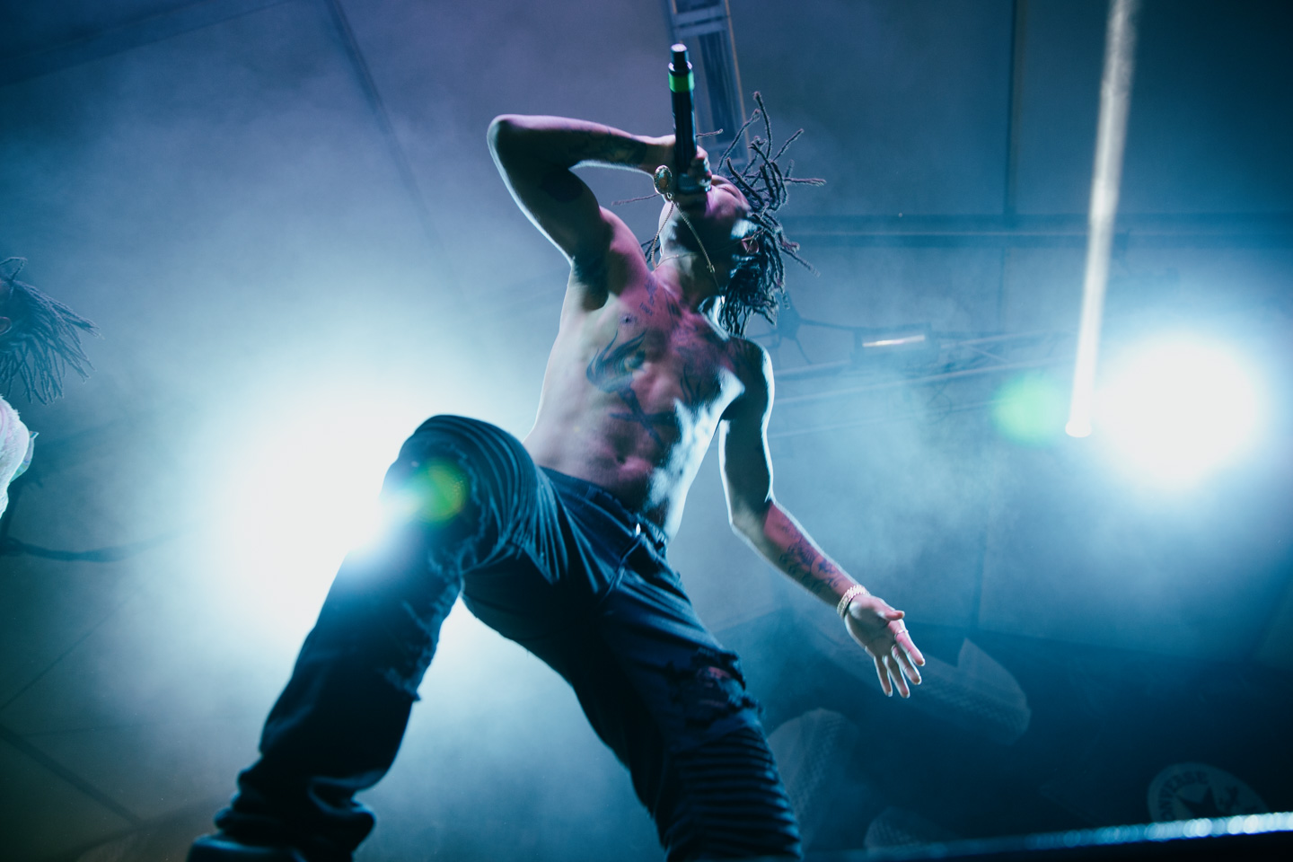 Rae Sremmurd at Fader Fort